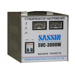 SASSIN SVC-3000W Электромеханический стабилизатор напряжения 3 кВА, однофазный 220В