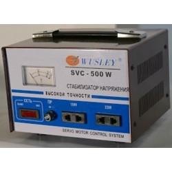 Wusley SVC-500W Электромеханический стабилизатор напряжения 500 ВА, однофазный