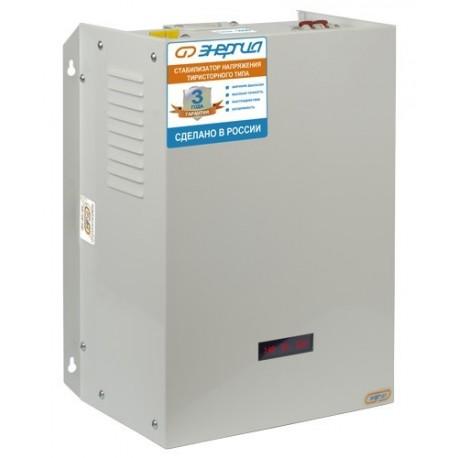 Энергия 9000 ВА Ultra Тиристорный стабилизатор напряжения 9 кВА, однофазный 220 Вольт