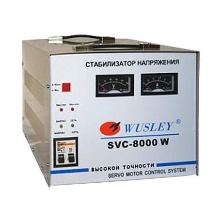 Wusley SVC-7500W Электромеханический стабилизатор напряжения 7500 ВА, однофазный 220В