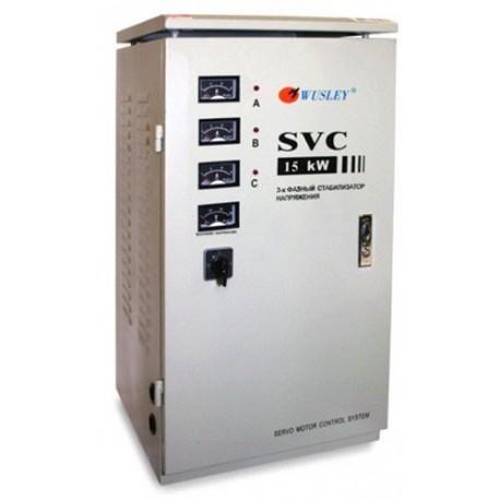Однофазный электромеханический стабилизатор напряжения 15 кВА Wusley SVC-15000W